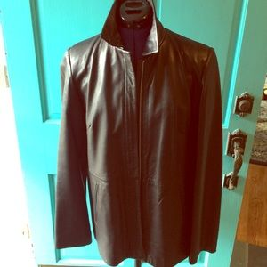 Genuine Leather Jacket, great condition